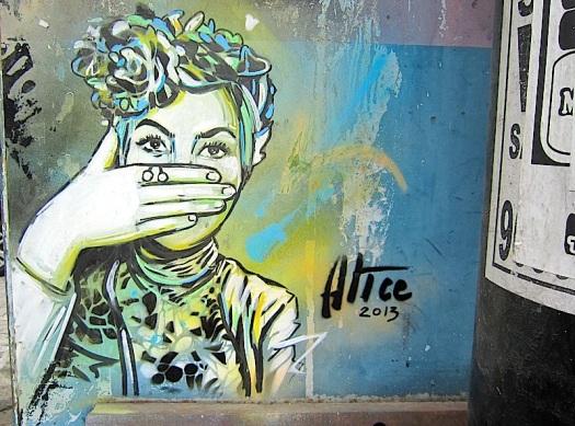 Street Art Alice