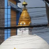 Die wohlwollenden Augen Buddhas