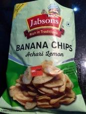 scharfe Bananenchips