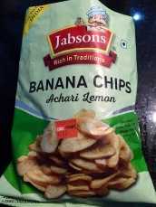 scharfe Bananenchips