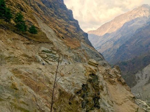Kalo Gandaki_Abgrund